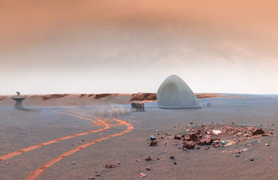 3D printing houses on Mars with NASA and the University of Central Florida