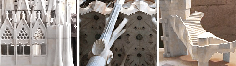 Sagrada Familia: Color Jet Printing (CJP) Helps Architects at Sagrada Familia Follow Gaudi's Method While Saving Time and Money